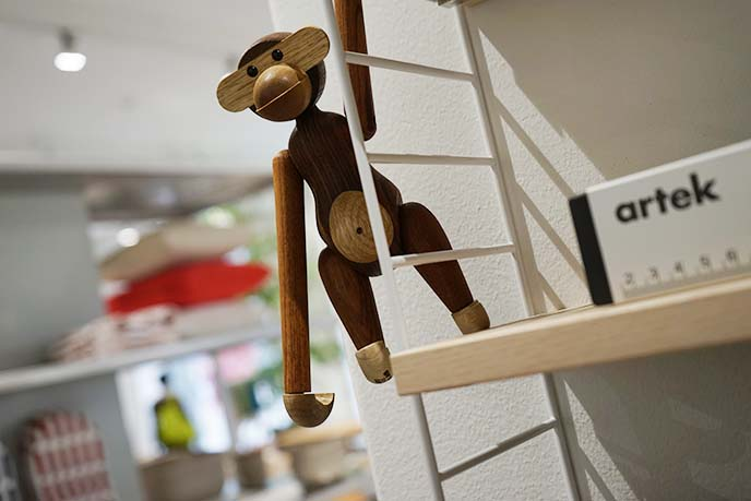 kay bojesen monkey ape toy