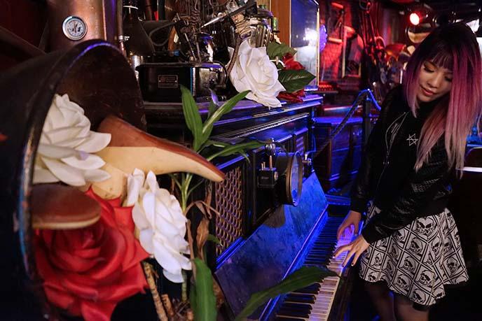 victorian steampunk piano