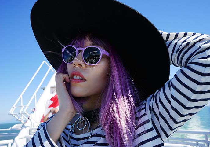 vysen eyewear, lavender sunglasses