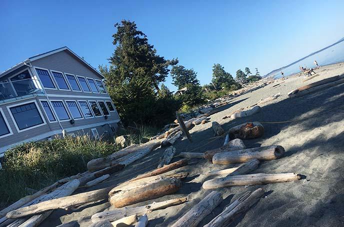 cordova bay beach, vancouver island