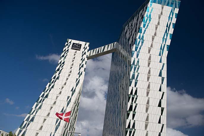 ac bella sky building modern architecture