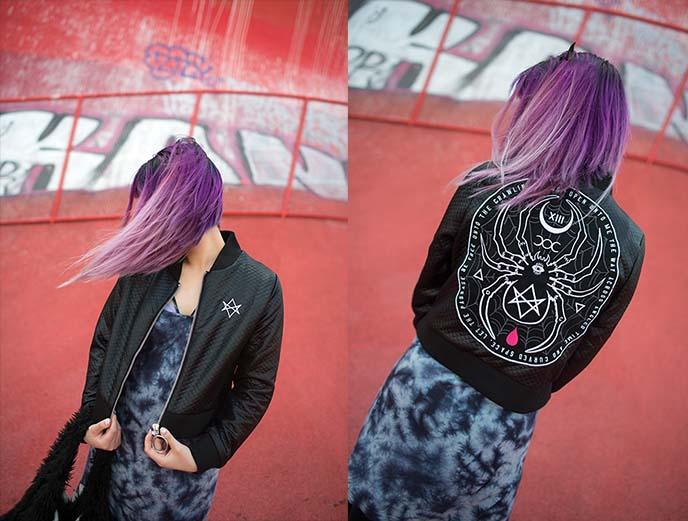 nu goth strega occult witch clothing