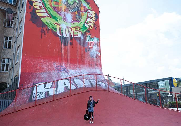 superkilen playground copenhagen denmark