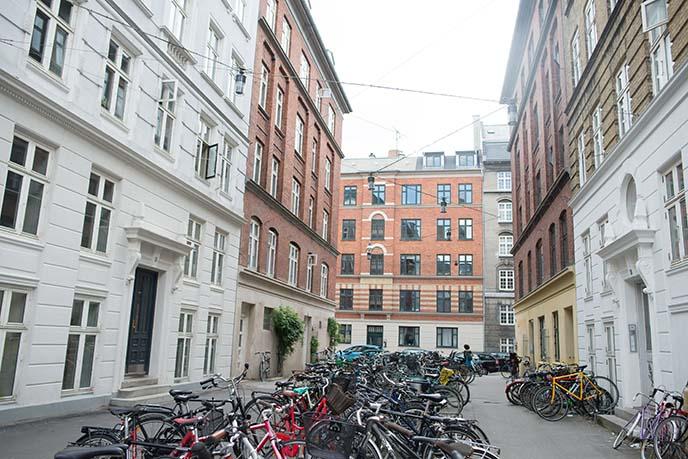 norrebro bikes, buildings