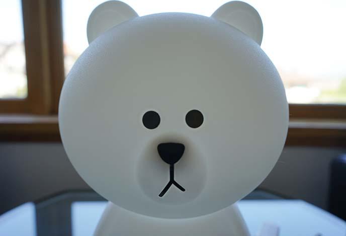 mr maria cute bear lamp