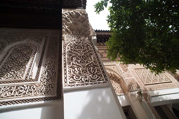 morocco courtyard harem bahia