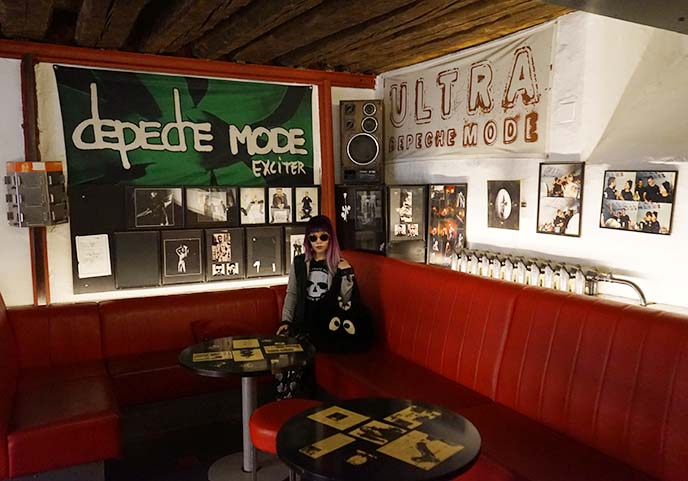 depeche mode theme bar interior