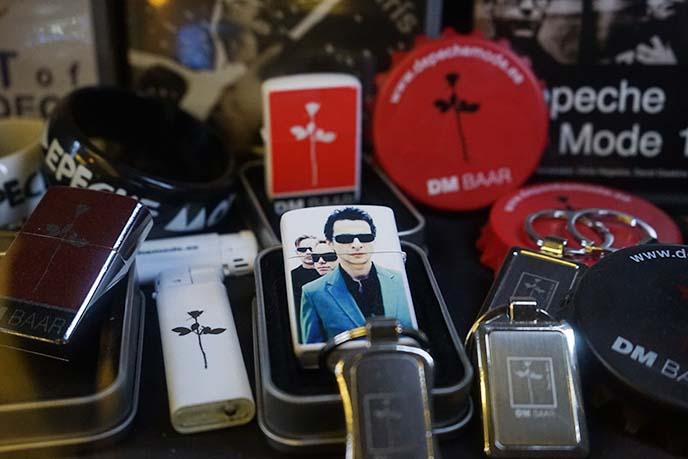 depeche mode fan memorabilia merchandise