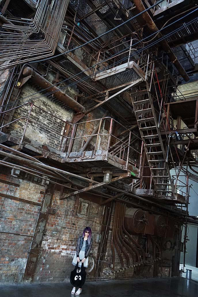 steampunk cybergoth building