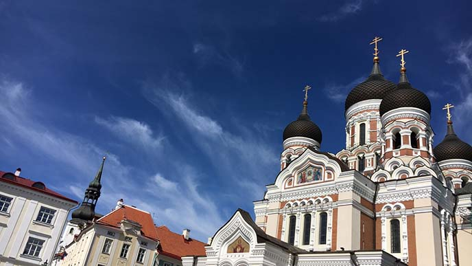 Alexander Nevsky Cathedral, Tallinn church
