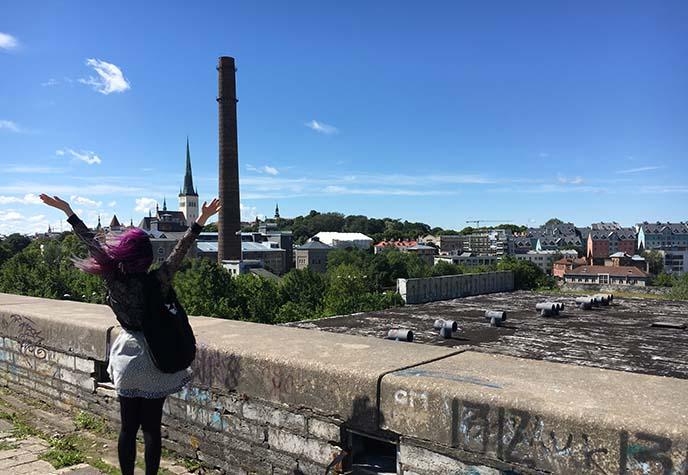 tallinn power plant chimney