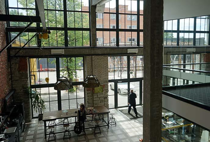 Telliskivi factory studios