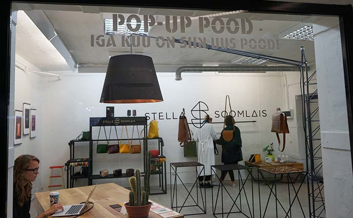 pop up shops restaurants tallinn
