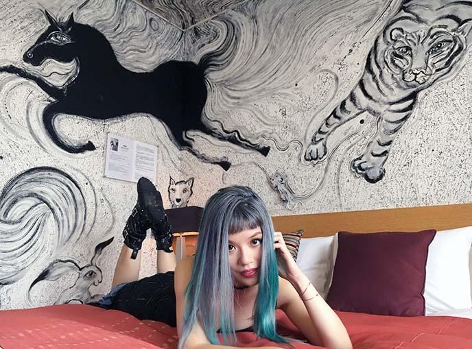 park hotel tokyo artist floor, zodiac room