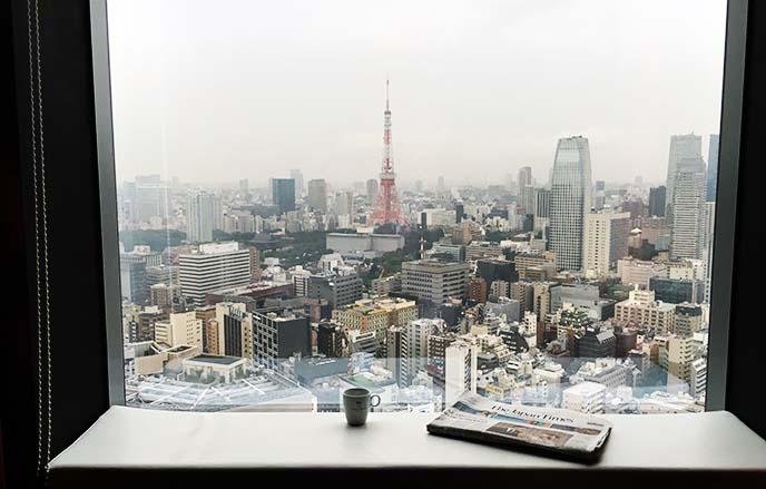 tokyo hotel best views