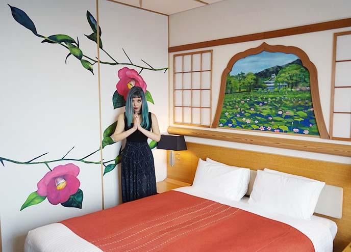 artist rooms, park hotel tokyo