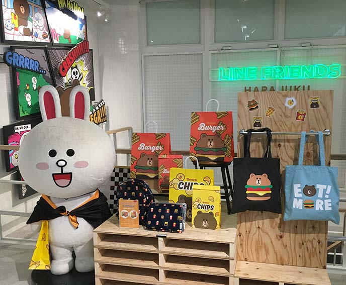 line friends harajuku shop