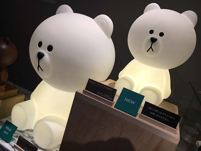 mr maria line bear lamps