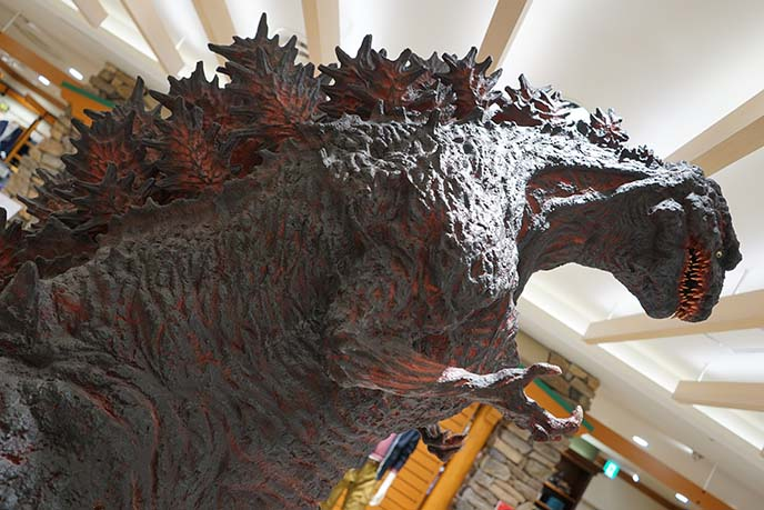 shin godzilla movie statue