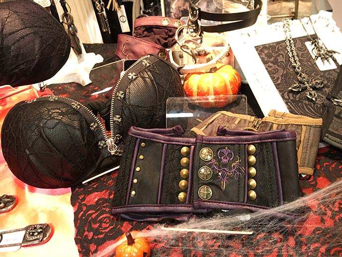 goth occult bras