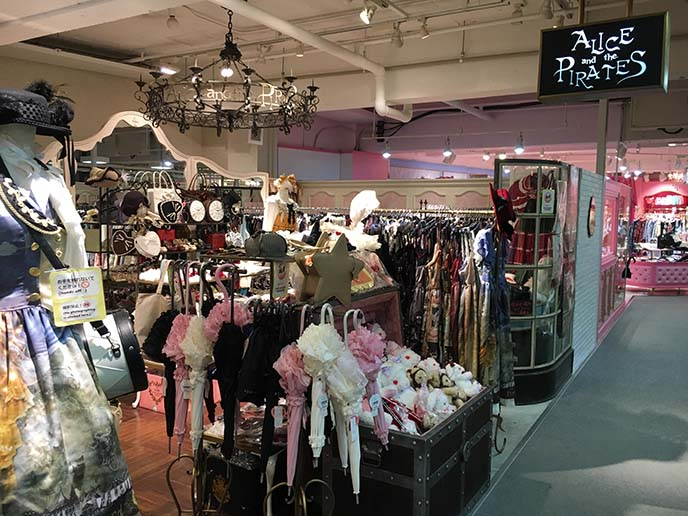 alice and pirates laforet store