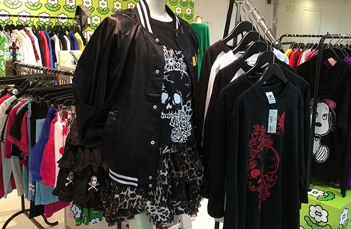 skull shirts japan