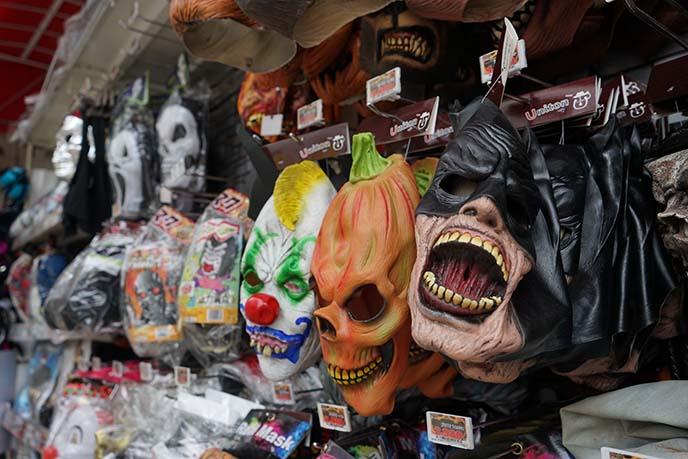 tokyo weird masks, costumes