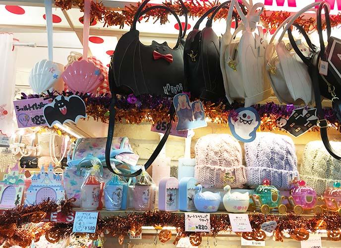 bat purses, gothic lolita bags