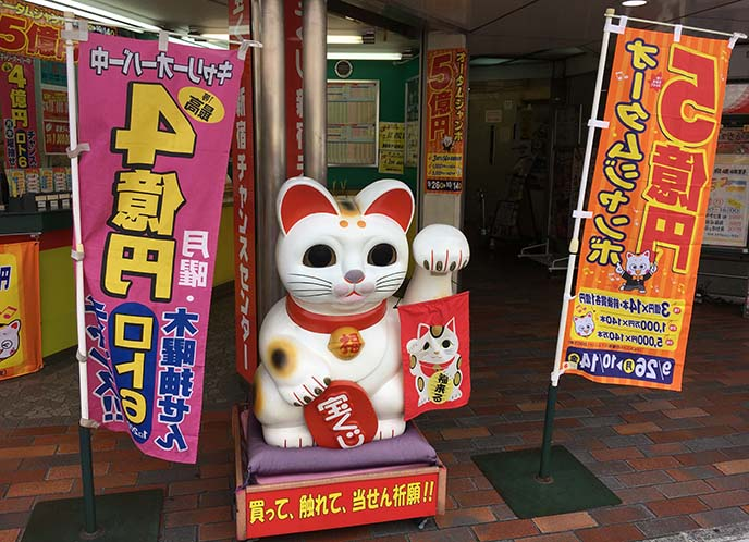 maneki neko fortune cat shinjuku