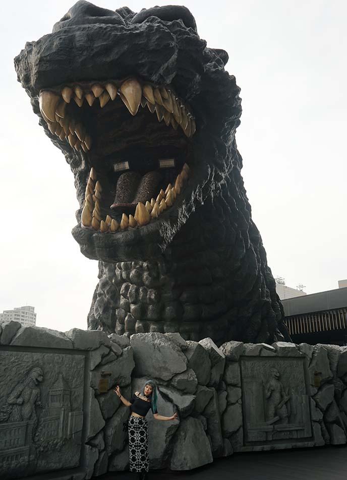 godzilla themed hotel review tokyo japan