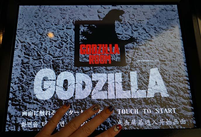 godzilla store, merchandise tokyo