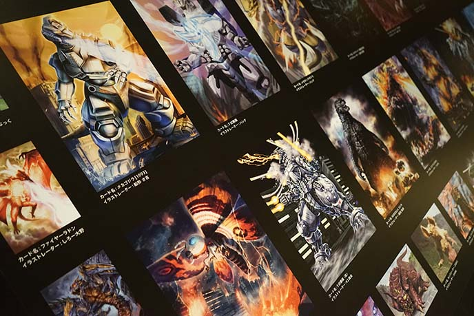retro gojira posters, japanese godzilla movies