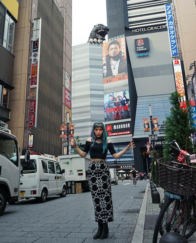 long clothing skirt, tokyo fashion
