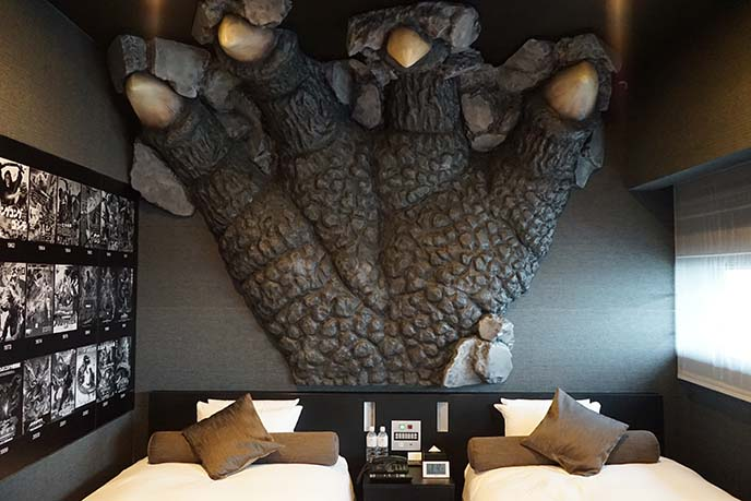 godzilla theme room, gracery japan
