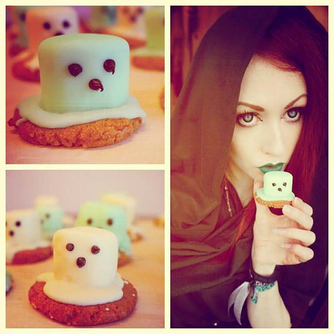 absinthe ghost marshmallows