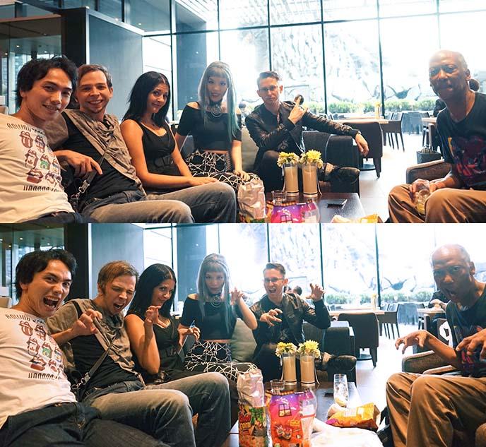hotel gracery shinjuku cafe lounge