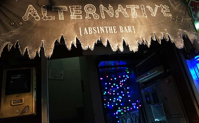 absinthe alternative bar kabukicho