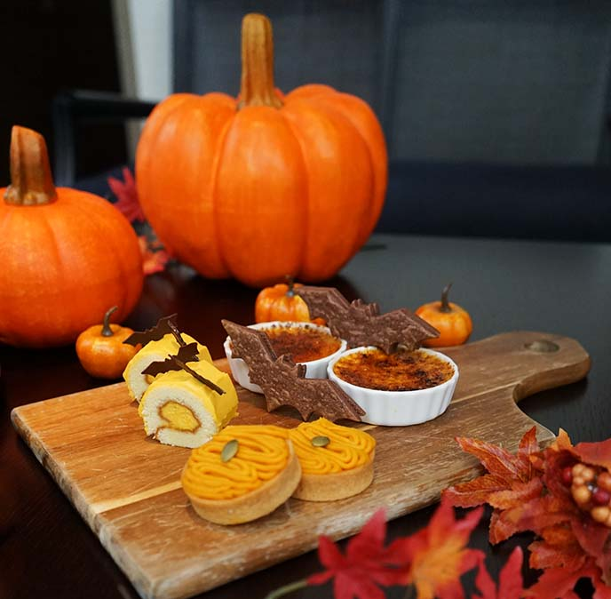 halloween food menu, tokyo