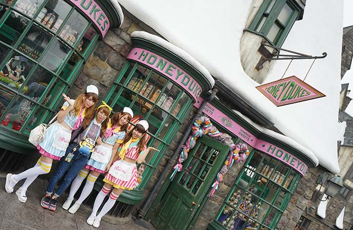 honeydukes, harry potter gift shop