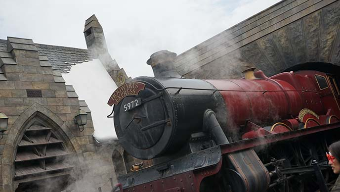 hogwarts express train universal studios