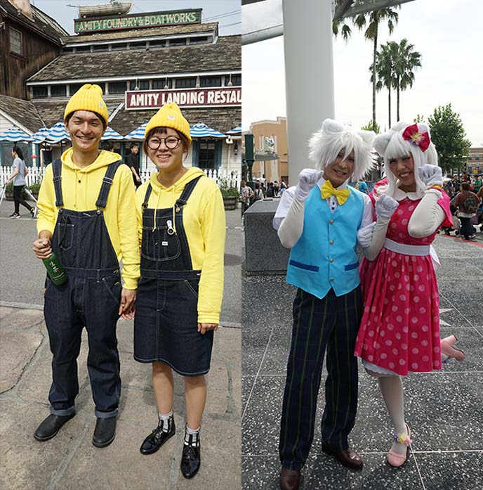 asian matching couples kawaii costumes
