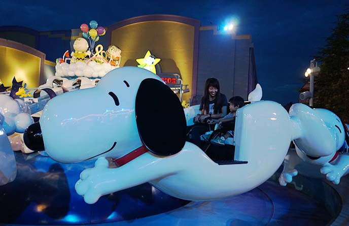 snoopy kids ride