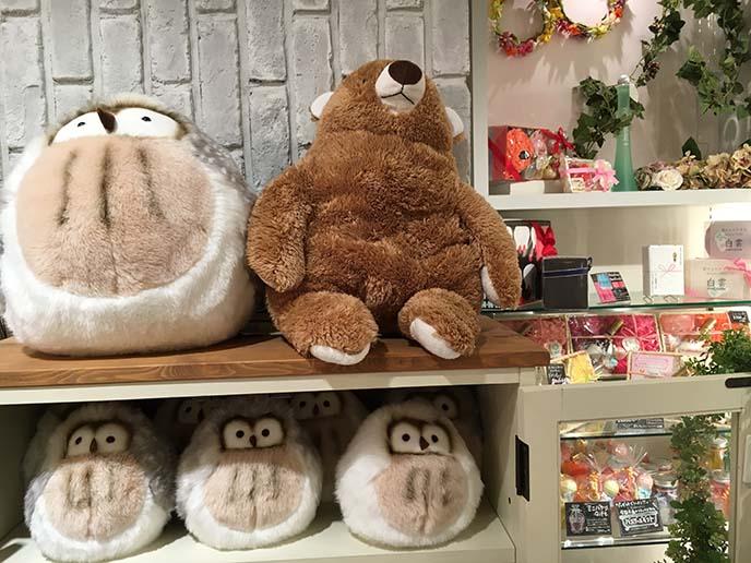 cute owl japanese stuffed toy