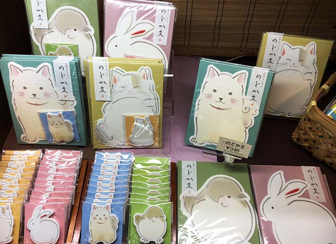 cute japanese animal greeting cards