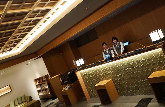 hotel gracery kyoto sanjo lobby reception