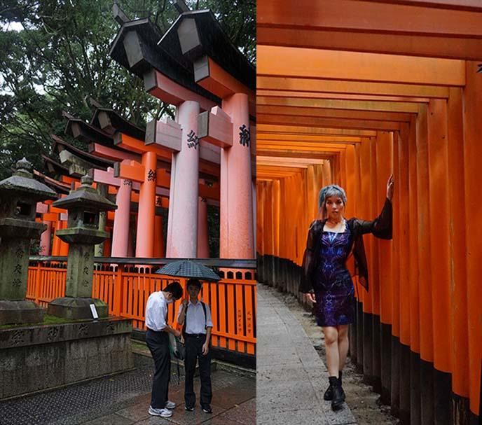 kyoto fushimi inari taisha gates