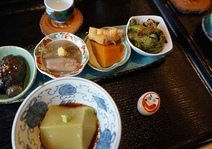daruman obanzai restaurant kyoto japan