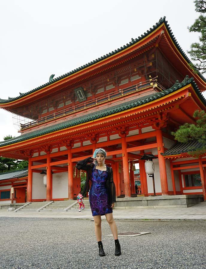 heian jingu shrine main gate