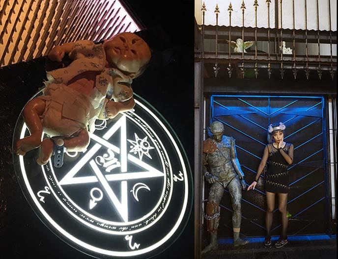 occult wiccan satan bar