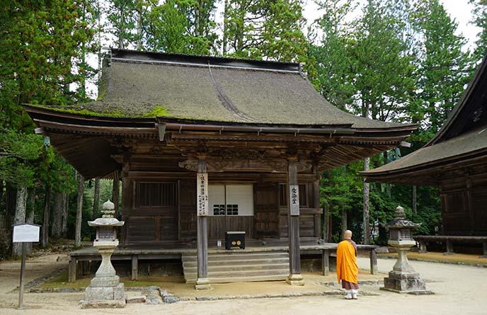 mt koya temples